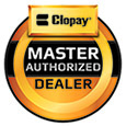 Hung Right Doors is recognized as a Master Authorized Dealer of Clopay garage doors.